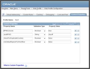 webprofile